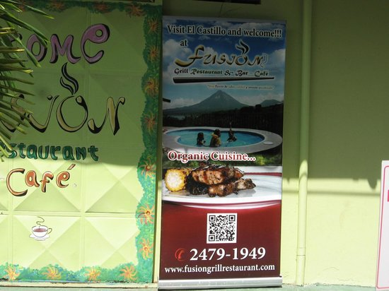Fusion Grill & Restaurant: SIGN