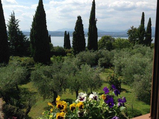 Villa Paradiso : la vista dalla camera Nr 7
