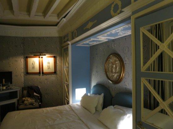 Hotel des Grands Hommes : Schlafzimmer