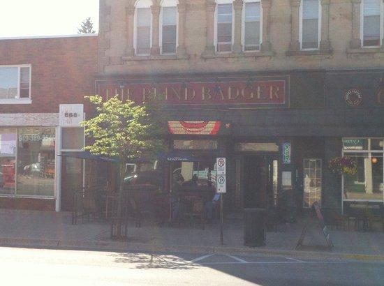 The Blind Badger: British Pub