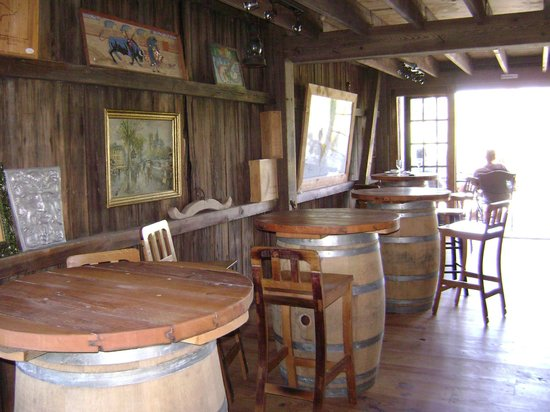 Lago Winery: Interior