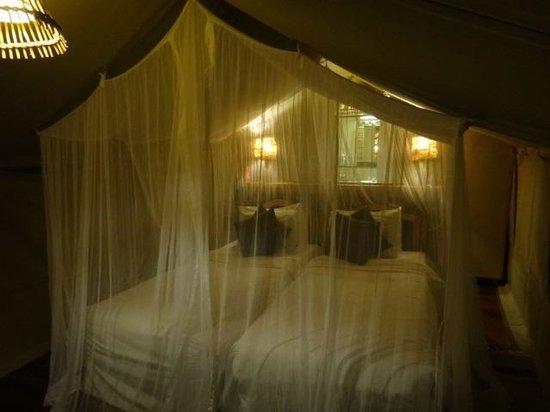 Sarova Mara Game Camp : Room at Night