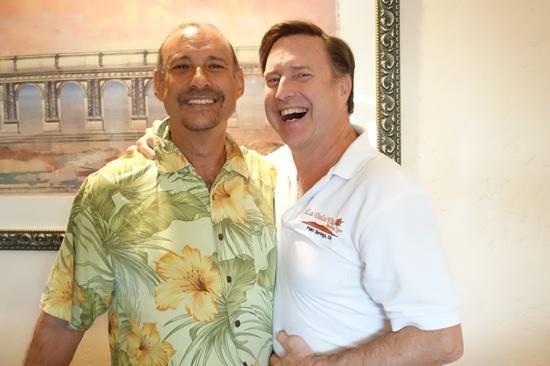 La Dolce Vita Resort & Spa : Your hosts Ken and Tim