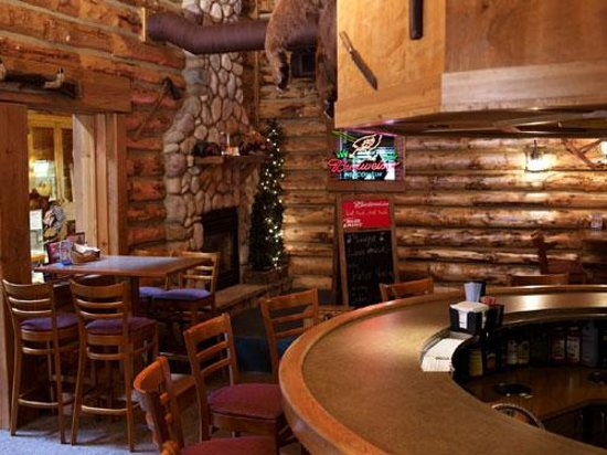 Mackinaw S Grill Spirits Cabin Bar Stage