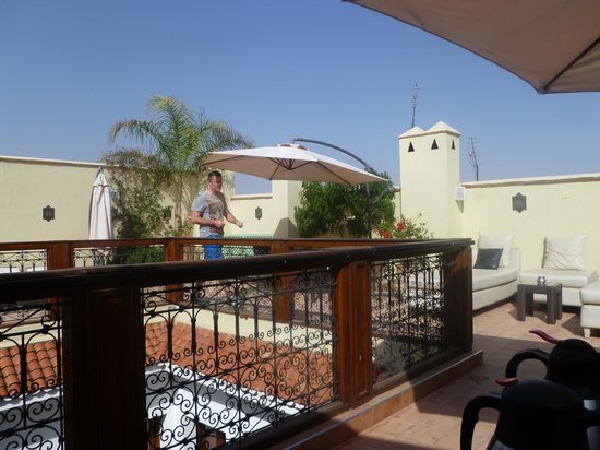 Riad Chayma : Rooftop terrace