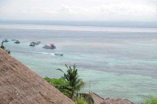 Coconuts Beach Resort: バンガローからの海の眺め