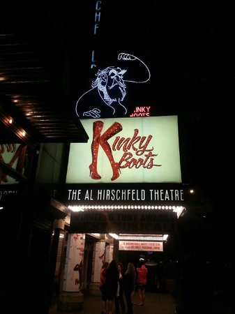 Re cyndi lauper picture of kinky boots on broadway new for Cyndi lauper broadway kinky boots