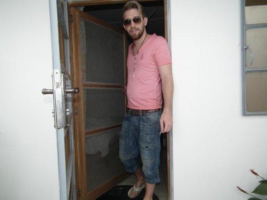 Kachikally Holiday Inn: Front door of room 6