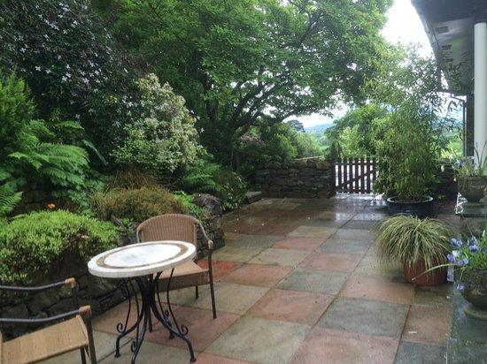 Lyzzick Hall Hotel: garden room view
