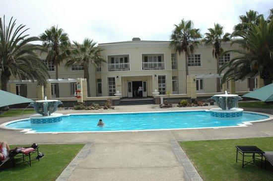 Swakopmund Hotel: Piscina do Hotel Swakopmund-Namíbia