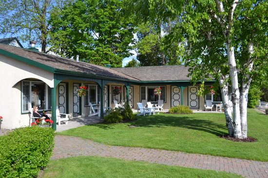 The Gananoque Inn and Spa : The set of rooms from 109-115