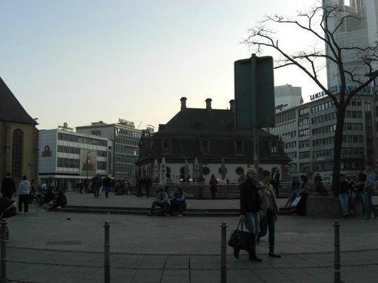 The Hauptwache: Café Hauptwache
