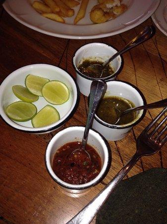 OPERADORA DE ALIMENTOS INZAGUI: Las salsas.