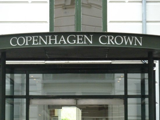 Hotel Copenhagen Crown: entryway
