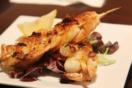 Port House Grill: Grilled Shrimp Skewers