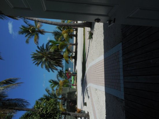 Lime Tree Bay Resort: View from our front ddor