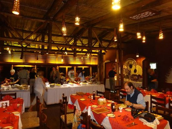 Amboseli Serena Safari Lodge: Dining Room