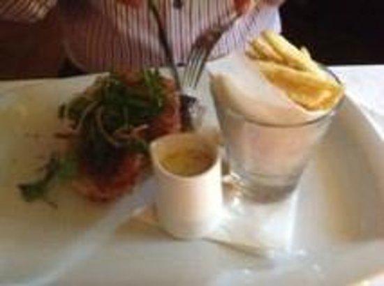 Tannery Restaurant: Fillet Steak & Chips @ €32.00