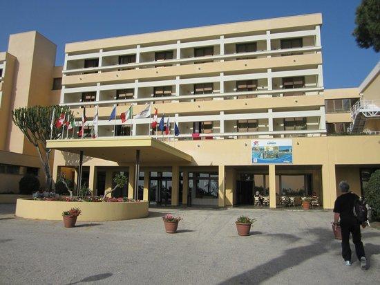 Club Lipari Hotel : l'entrée de l'hotel