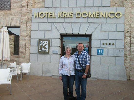 hotel Cigarral Doménico: Pareja de Gijón.Asturias