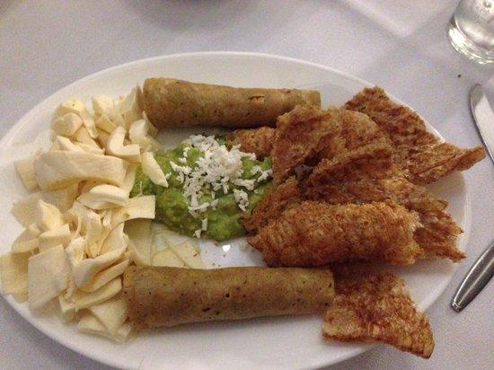 Cafe de Tacuba : Food