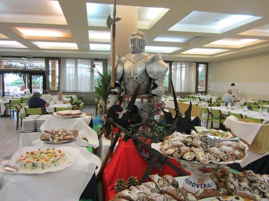 Club Lipari Hotel : une autre partie du buffet