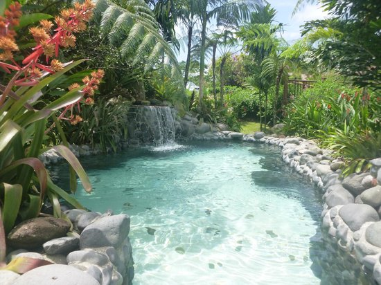 Arenal Springs Resort and Spa: one of the many hot spring pools