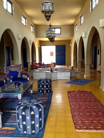 Hotel Riad Ali: Entrance hall