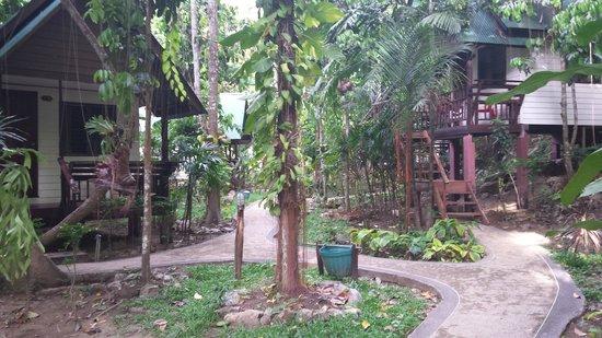 Aonang Cliff View Resort: bungalows
