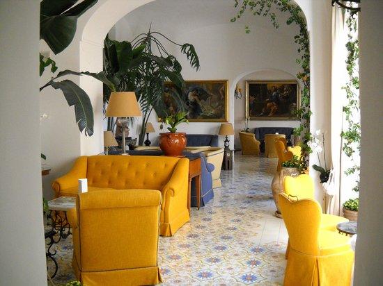 Le Sirenuse Hotel : Lobby area