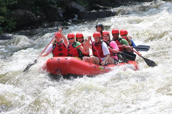 Appalachian Outdoors Whitewater Rafting: upper river