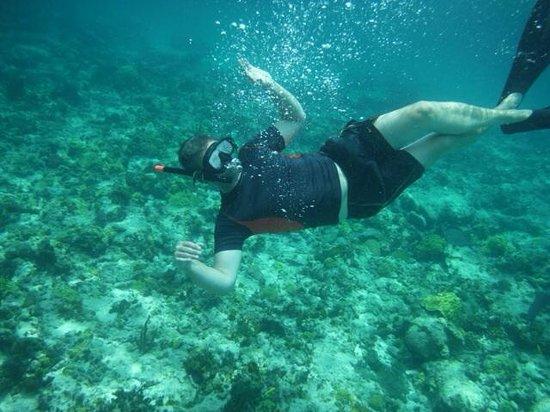 Blue Hole Watersports : Underwater Shot