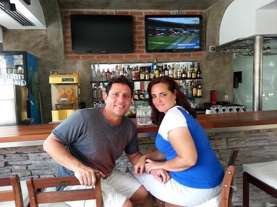 Hotel Rio Malecon Puerto Vallarta : Sitting at the bar in Coexist cafe