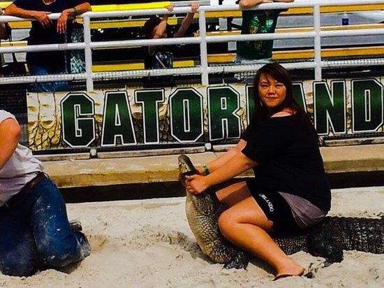 Gatorland : Hahahaha I was terrified but it was super fun and awesome experience