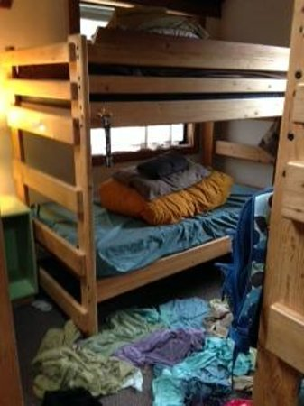 Point Reyes Hostel: The bunks in the bunkhouse