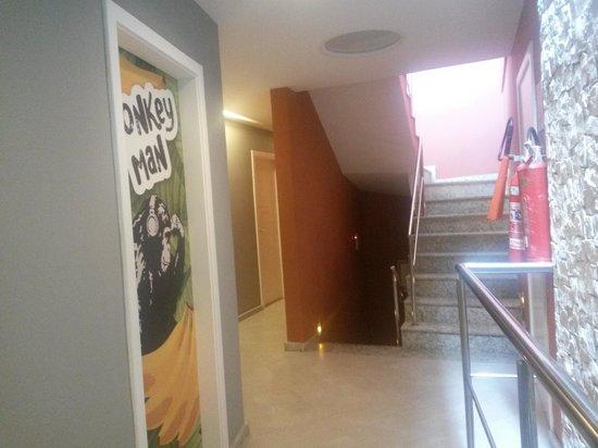 F Design Hostel : Área da circulaçao