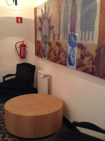 Hotel UNIC Prague: Sitting area in the hotel