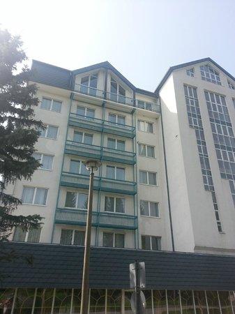 AHORN Hotel Am Fichtelberg: Note balconies without doors