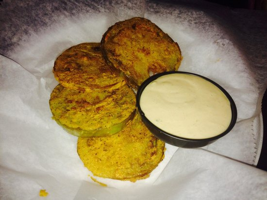 Saw's Soul Kitchen: Fried Green Tomatoes