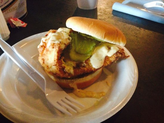 Saw's Soul Kitchen: Best Chicken Sandwich Ever!!!