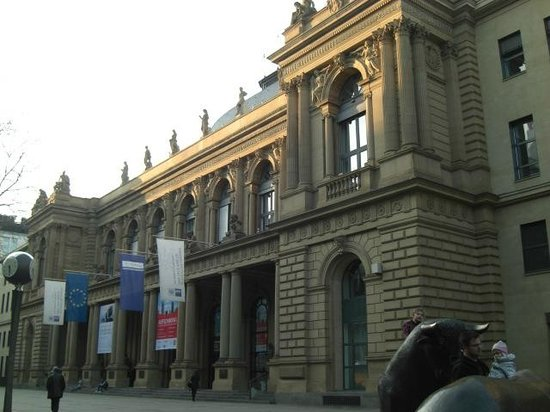 Schillerpassage Frankfurt bolsa de valores de frankfurt picture of stock exchange borse