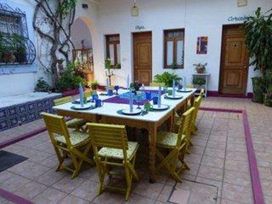 El Diablo y la Sandia Libres: another table setting