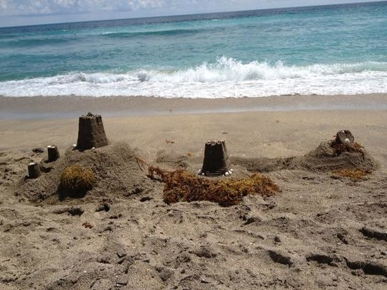 Hutchinson Island Marriott Beach Resort & Marina: All the sand you need for a castle