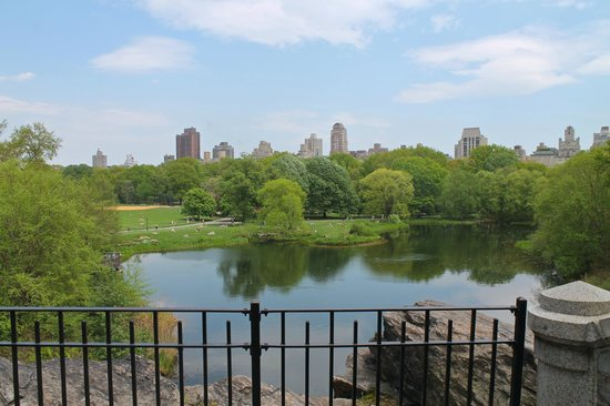 Belvedere Castle : view from the castle terrace