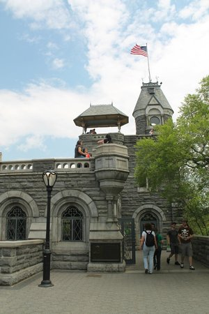Belvedere Castle : the castle in May