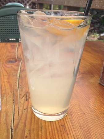 Big Sur River Inn Restaurant : Lemonade with a funky taste