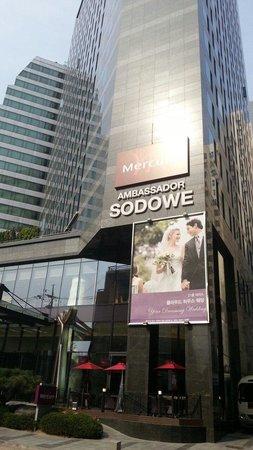 Mercure Seoul Ambassador Gangnam Sodowe: HOTELの、前です