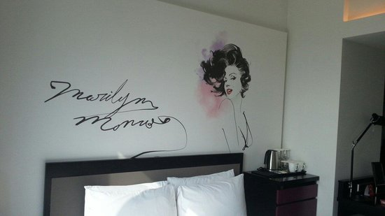 Mercure Seoul Ambassador Gangnam Sodowe: 部屋には絵が書かれていました
