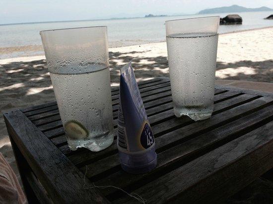 Kamalaya Koh Samui : On the beach at Kamalaya