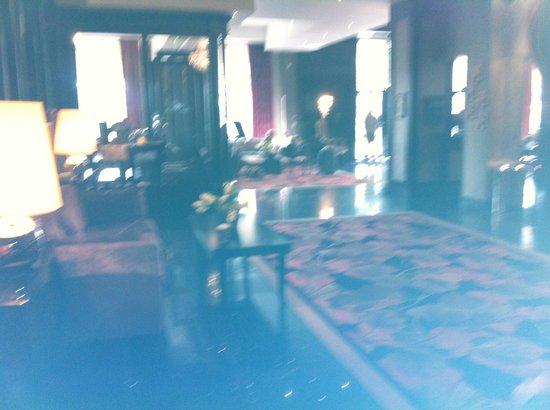 Ashling Hotel : reception area